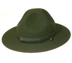 Military Campaign Drill Instructor Hats